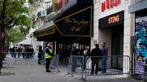 People in front of the Bataclan concert hall in Paris on November 12, 2016 ahead of a performance by Sting. (AFP)