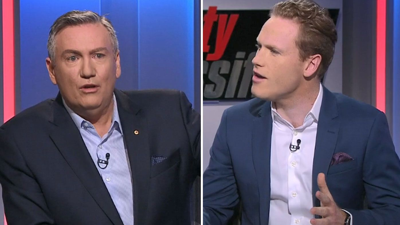 Eddie McGuire and Sam McClure's fiery exchange over Jack Steven media coverage