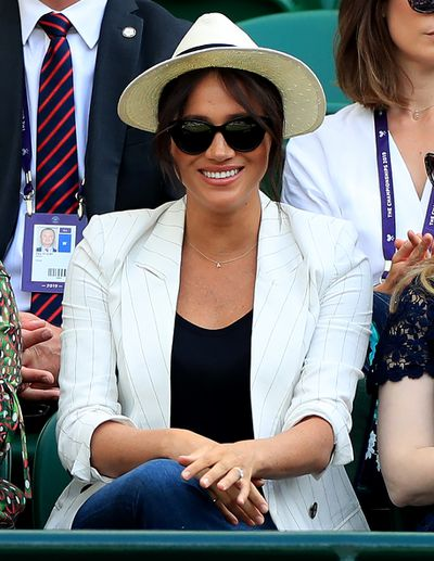 Meghan Markle's Wimbledon outfit had an Aussie touch