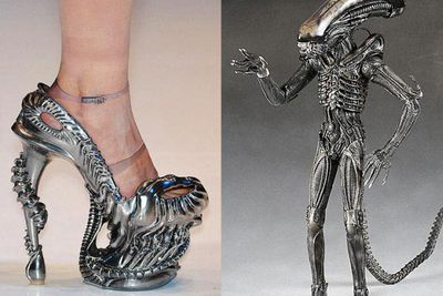 These stilettos are out of this world!