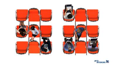 Aviointeriors new seat design