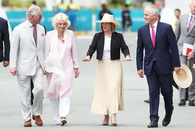 Malcolm Turnbull & Prince Charles