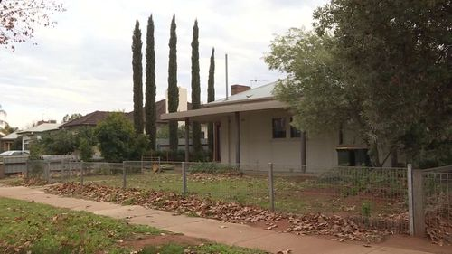 Her body was found in a shed at the rear of the property. Picture: 9NEWS