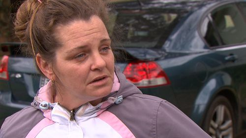 Tina Rhodes has spoken about losing both her nephew and mother in the same incident. (9NEWS)