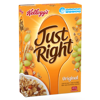 Kellogg's Just Right - 22.9g per 100g