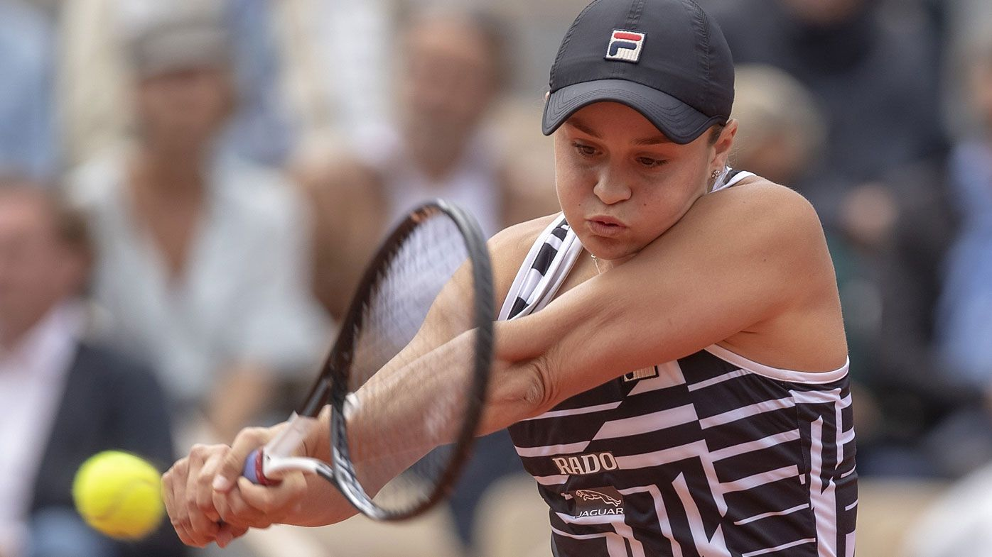 Ashleigh Barty's coach stunned by French Open triumph, clay not Aussie's favourite