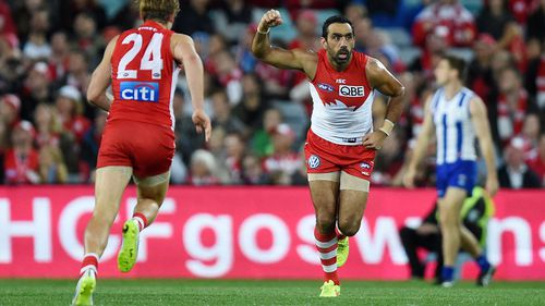 Adam Goodes announces retirement from the AFL
