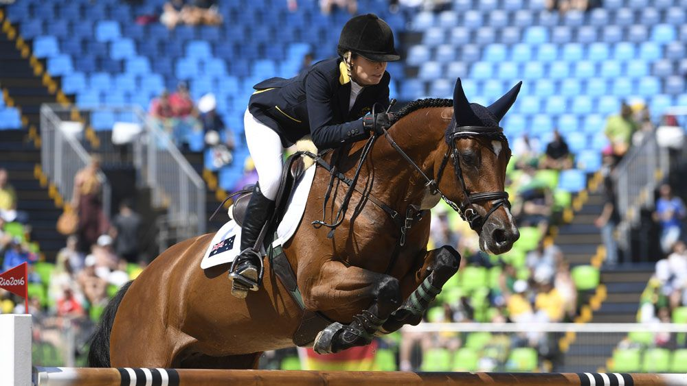 Australian rider Edwina Tops-Alexander. (AFP)
