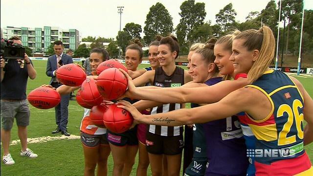 AFL women's cup focusses Demons star