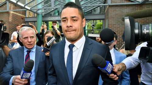 Hayne attended court in December last year.