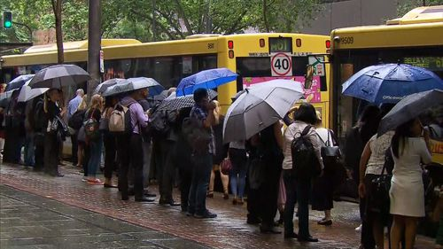 Commuters trip home was just as frustrating as the one this morning, with more than 100 drivers not turning up for work.
