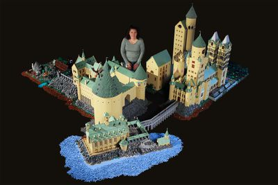 Largest Lego structure built by a single person<br>