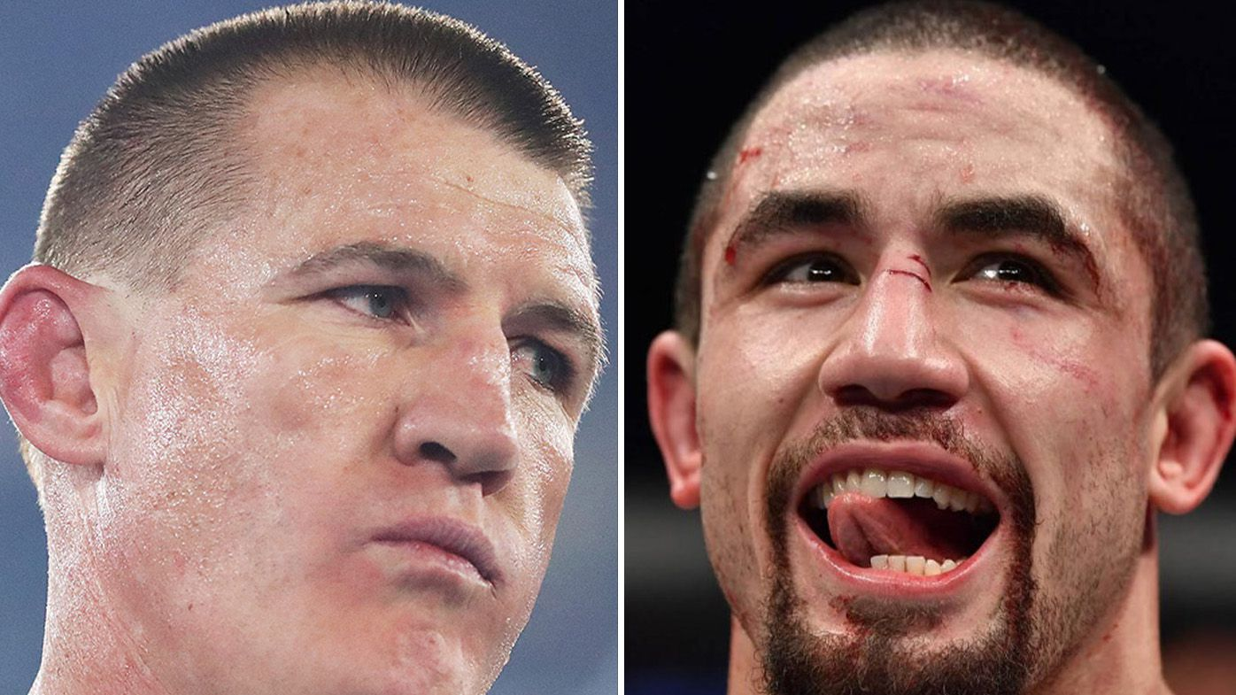 'I've certainly got the time': Robert Whittaker raises hope of Paul Gallen clash coming to life