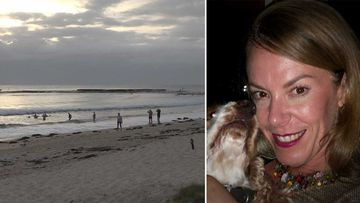 Human remains, potentially belonging to Melissa Caddick, have washed up on a beach in Mollymook.