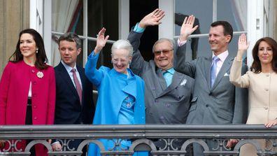 Prince Henrik and Danish royal family