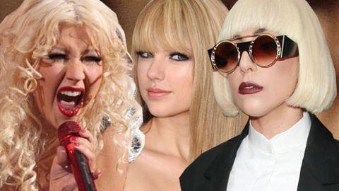 Christina Aguilera, Taylor Swift, Lady Gaga