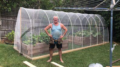 Scott Cam shows how to build a veggie garden cover for under $300