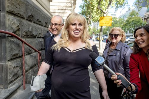 Wilson has previously said she plans to give the payout to charity and the Australian film industry.