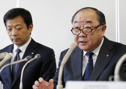 Japan Airlines general manager Toshinori Shin apologised for the incident in which the pilot failed a breath test before the flight.