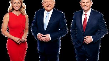 Livinia Nixon, Peter Hitchener and Tony Jones