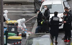 Seven in custody after Paris stabbing attack linked to Charlie Hebdo