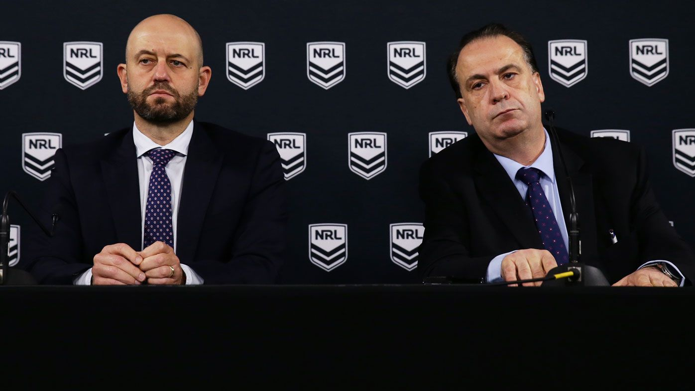 NRL to cut 70 per cent of costs to keep the game afloat