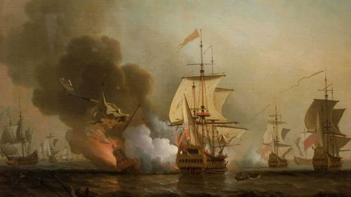 Spanish shipwreck filled with treasure found at bottom of Caribbean Sea