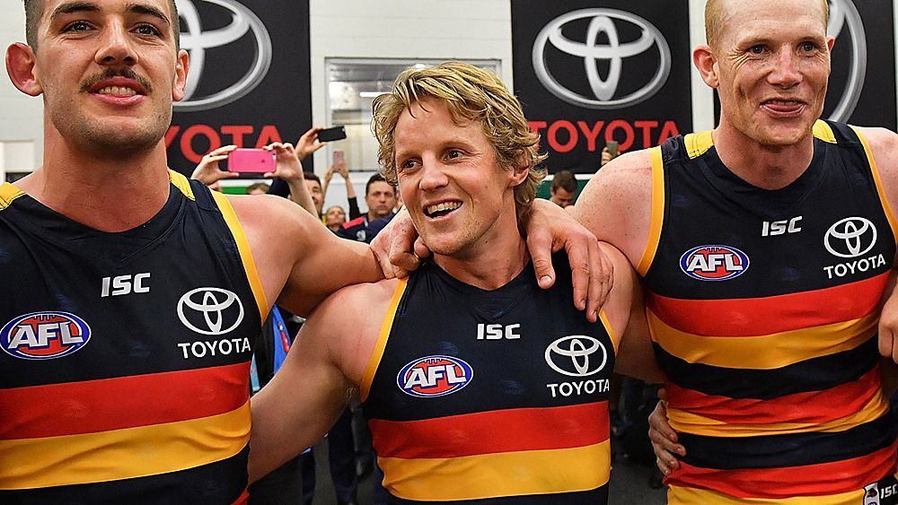 AFL Finals: Adelaide Crows vice-captain Rory Sloane to come under MRP scrutiny after hit on Patrick Dangerfield