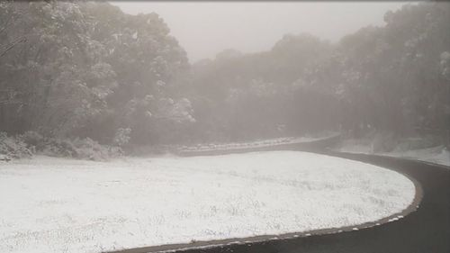 Snow has fallen in places across four states in Australia in the first major fall for 2018. (Weatherzone)