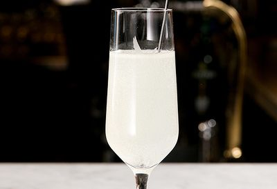 La Boulangerie's Le Fizz with vodka