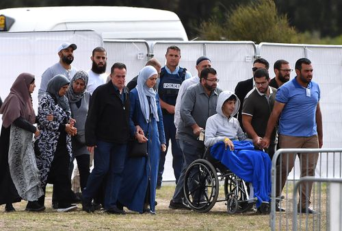 Mourners said Zaed wanted to shake everybody's hand, he wanted to show everyone that he appreciated them. (AAP Image/Mick Tsikas)