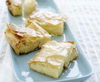 Greek custard pastries