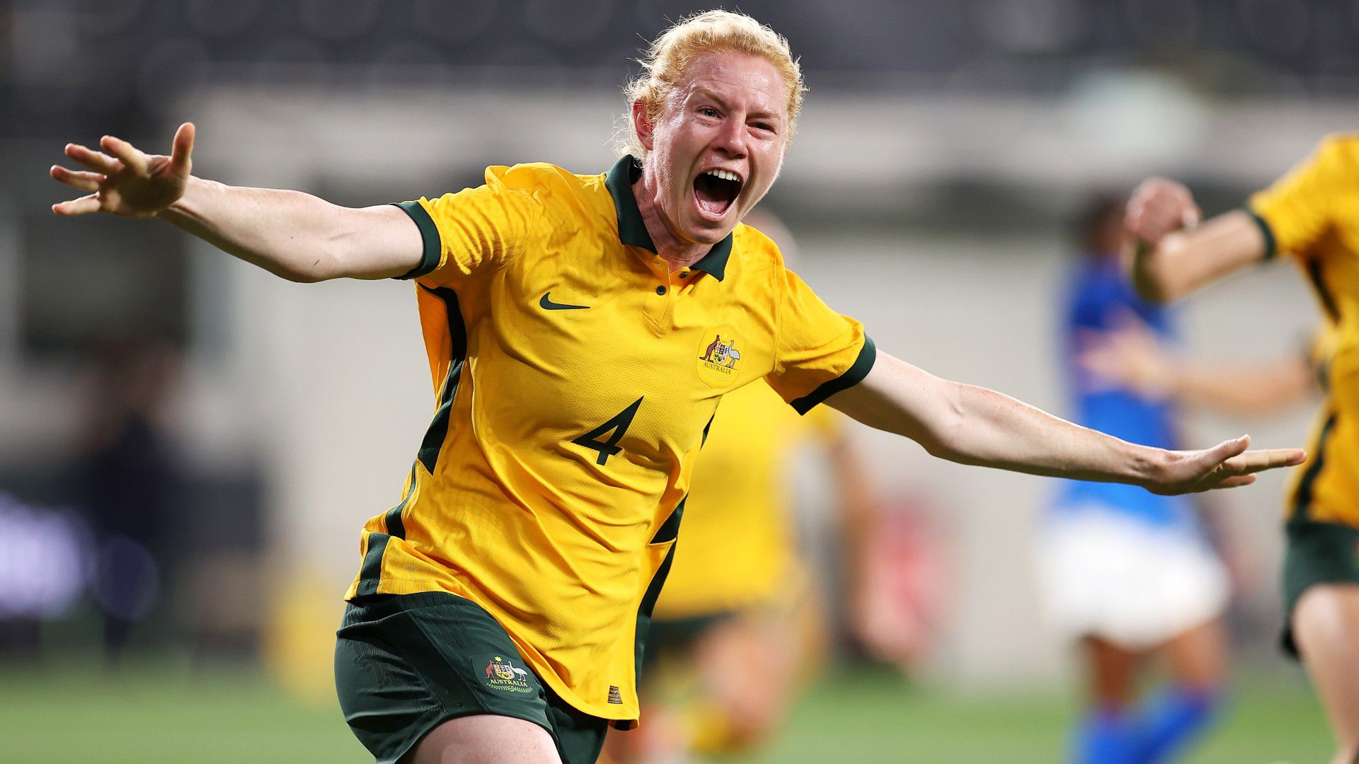 Matildas return home after nearly two years