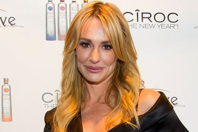 Real Housewives star Taylor Armstrong celebrated at CIROC The New Year 2012 in Chicago. Looking feminine and freshfaced, Taylor proves you can still look fab at 40.