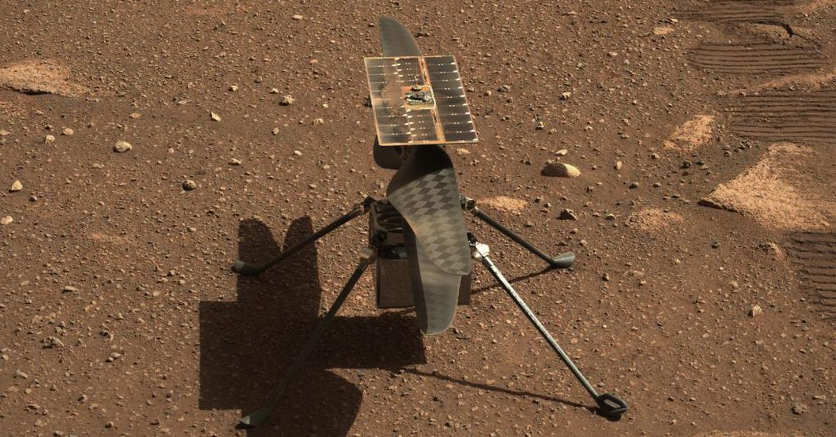 Mars helicopter's first flight moments away from take-off – 9News