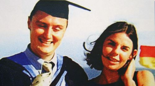 An undated handout photo of missing-presumed-dead English backpacker Peter Falconio with his girlfriend Joanne Lees. (AAP)
