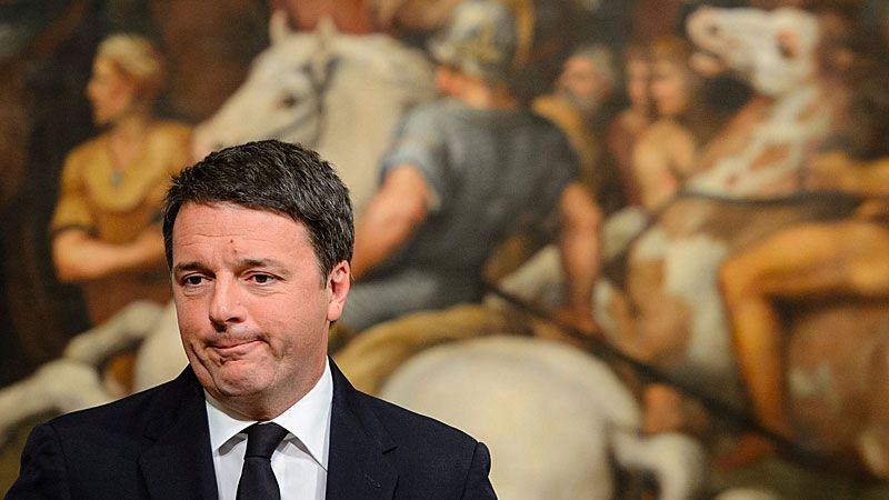 The Italian Prime Minister, Matteo Renzi, has announced his resignation after exit polls on 04 December 2016 suggest a 'No' vote victory. (AAP)