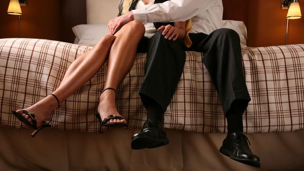 A woman has an affair with a younger man...and doesn't like it!