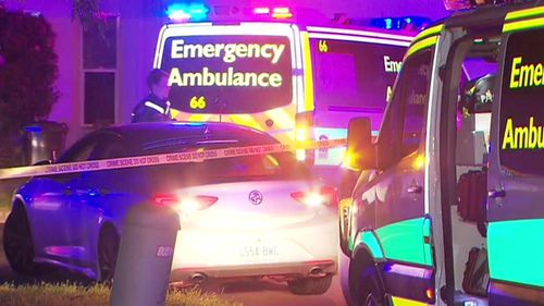 The injured man has been taken to the Royal Adelaide Hospital under police guard for treatment, his condition is considered to be serious.
