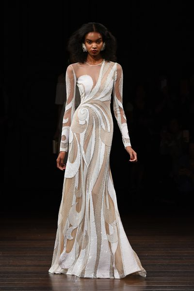 Naeem Khan, Spring 2017, New York Bridal Fashion Week