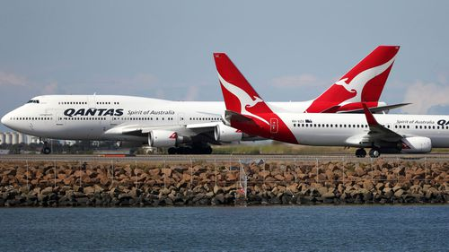 A Qantas employee has been stood down after raising coronavirus fears (file photo).