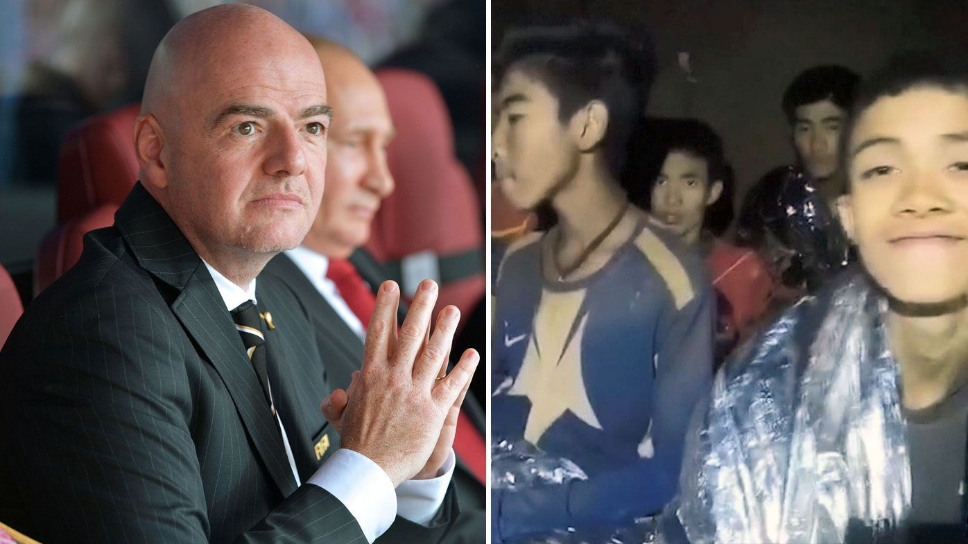 Football: FIFA invite trapped Thai boys to World Cup