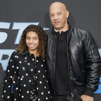Vin Diesel and Similce Diesel