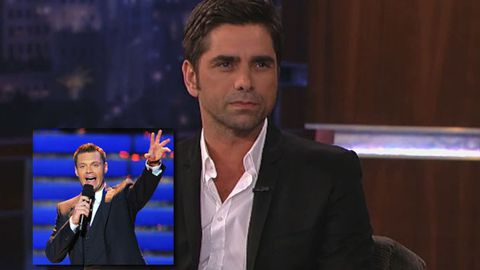 John Stamos calls Ryan Seacrest gay on live TV