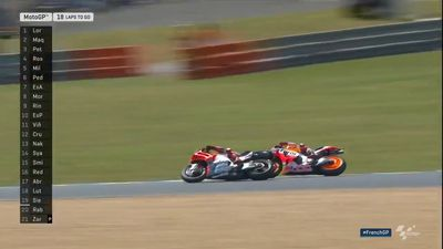 Marc Marquez's daring move leads to French MotoGP win