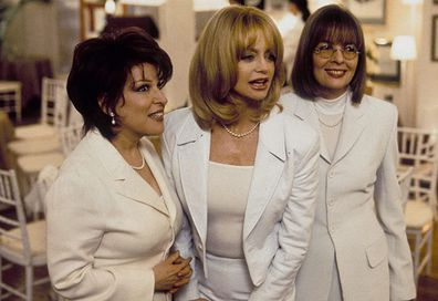 The First Wives Club starred GBette Midler, Goldie Hawn and Diane Keaton, cast