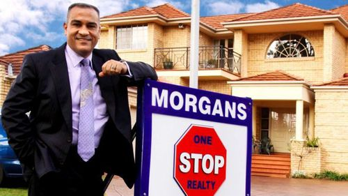 Sid Morgan is former detective and now a real estate agent.