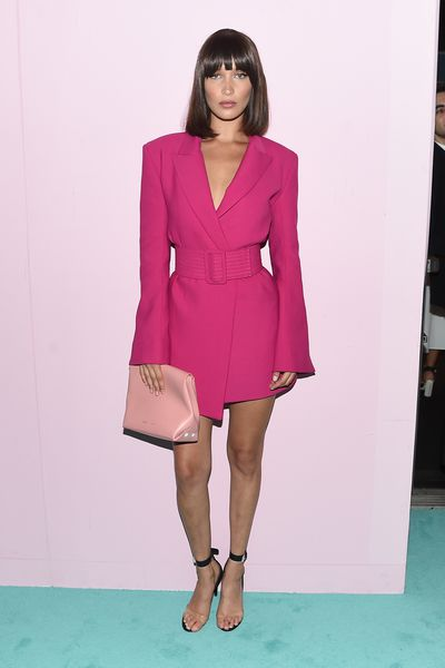 <p><strong>Loser: Bella Hadid in Virgil Abloh</strong></p> <p>With the severe bob Bella could be off to a fancy dress party as an '80s corporate raider.</p>