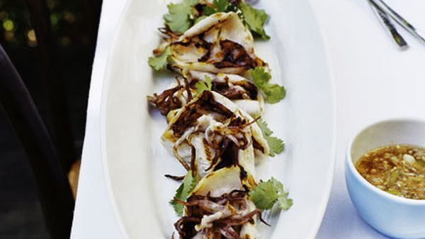 Grilled squid (Pla meuk yang)