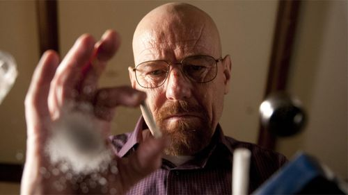 Although the show ended almost a year ago, Bryan Cranston's portrayal of Walter White in Breaking Bad has him nominated for best lead actor.